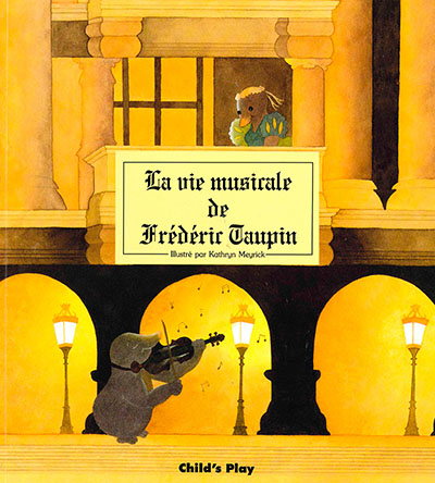 La Vie Musicale De Frederir Taupin - Jacket