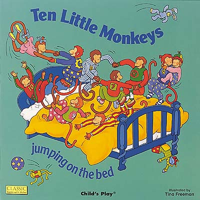 Ten Little Monkeys Jumping on the Bed - Jacket