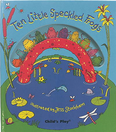 Ten Little Speckled Frogs - Jacket
