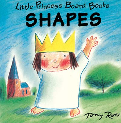 Little Princess Board Book - Shapes - Jacket