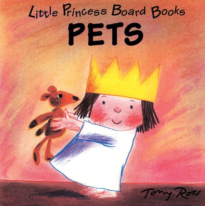 Little Princess Board Book - Pets - Jacket