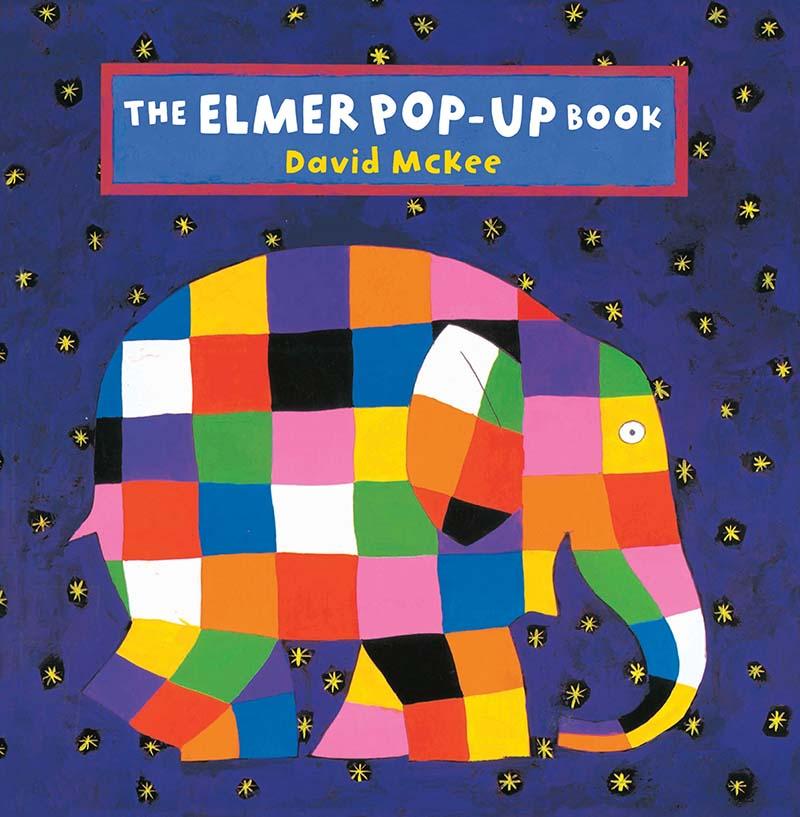 The Elmer Pop-Up Book - Jacket