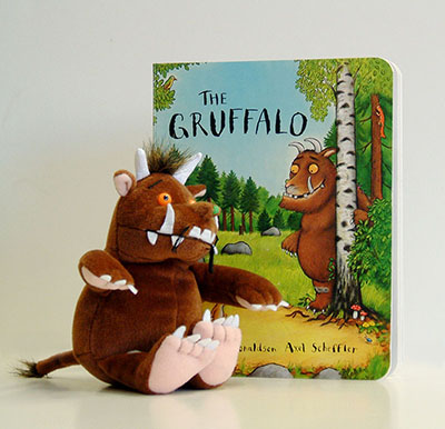 The Gruffalo Plus Toy Gift - Jacket