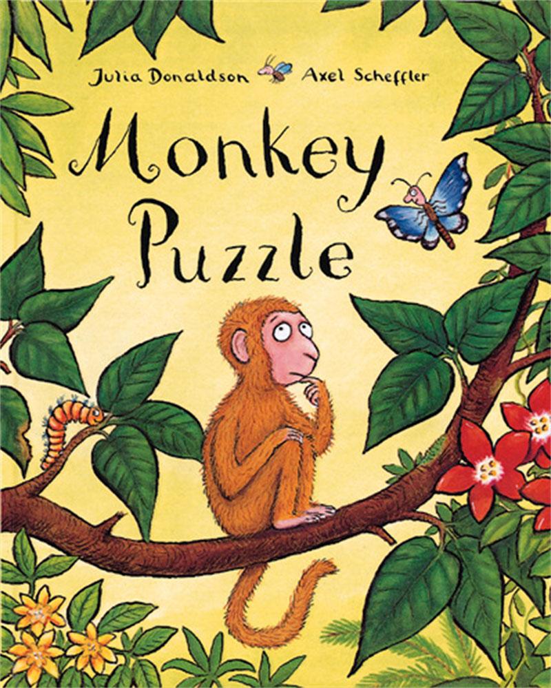 Monkey Puzzle Big Book - Jacket