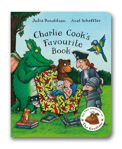 Charlie Cook's Favourite Book - Jacket