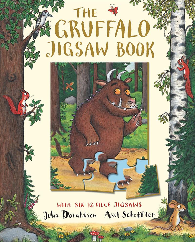 The Gruffalo Jigsaw Book - Jacket