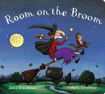 Room on the Broom Board Book - Jacket