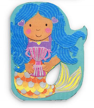 My Sparkly Mermaid Books: Lulu - Jacket