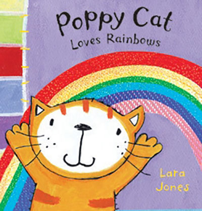 Poppy Cat Loves Rainbows - Jacket
