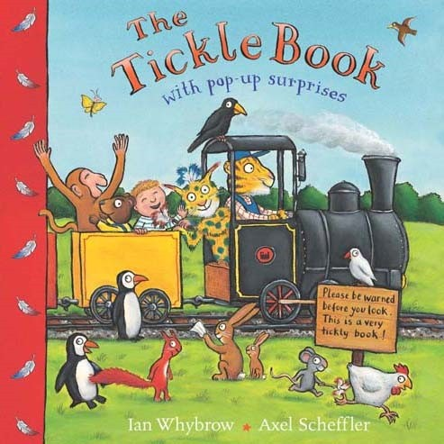 The Tickle Book - Jacket