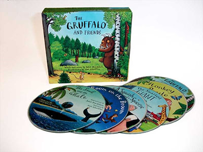 The Gruffalo and Friends CD Box Set - Jacket