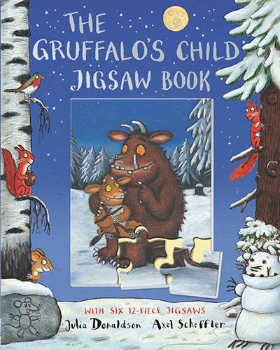 The Gruffalo's Child Jigsaw Book - Jacket