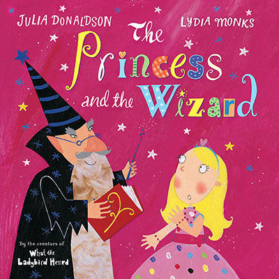 The Princess and the Wizard - Jacket