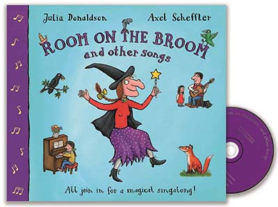 Room on the Broom and Other Songs Book and CD - Jacket