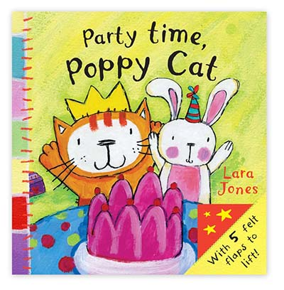 Poppy Cat Peekaboos: Party Time, Poppy Cat - Jacket