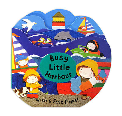 Busy Little Books: Busy Little Harbour - Jacket