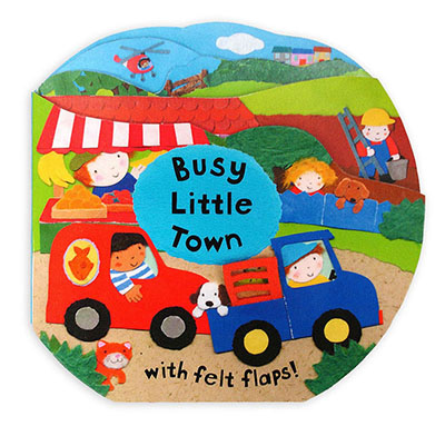 Busy Little Books: Busy Little Town - Jacket