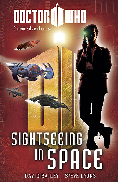 Doctor Who: Book 4: Sightseeing in Space - Jacket