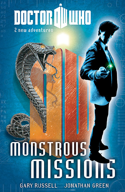 Doctor Who: Book 5: Monstrous Missions - Jacket