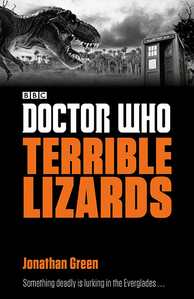 Doctor Who: Terrible Lizards - Jacket