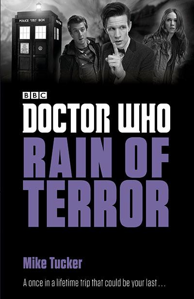 Doctor Who: Rain of Terror - Jacket