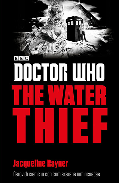 Doctor Who: The Water Thief - Jacket