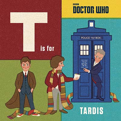 Doctor Who: T is for TARDIS - Jacket