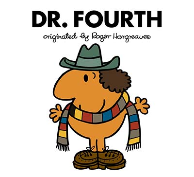 Doctor Who: Dr. Fourth (Roger Hargreaves) - Jacket