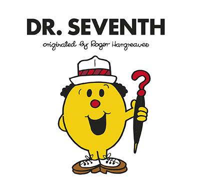 Doctor Who: Dr. Seventh (Roger Hargreaves) - Jacket