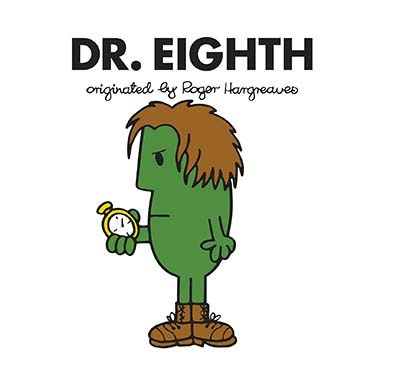 Doctor Who: Dr. Eighth (Roger Hargreaves) - Jacket