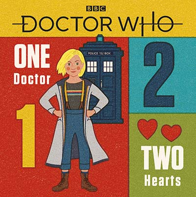 Doctor Who: One Doctor, Two Hearts - Jacket