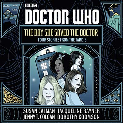 Doctor Who: The Day She Saved the Doctor - Jacket