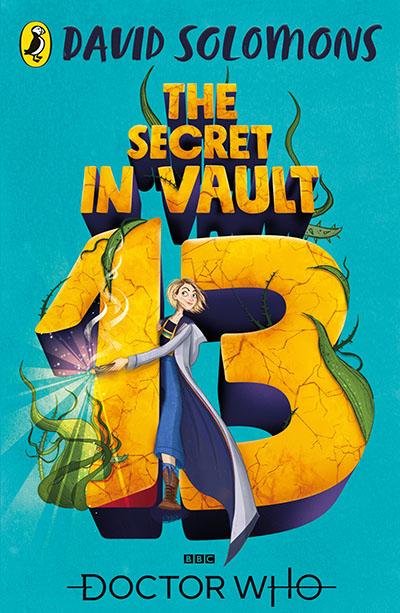 Doctor Who: The Secret in Vault 13 - Jacket