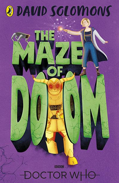 Doctor Who: The Maze of Doom - Jacket