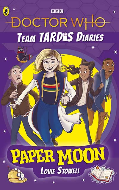 Doctor Who: Paper Moon - Jacket