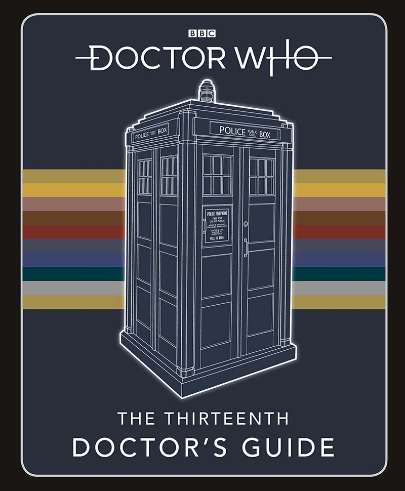 Doctor Who: Thirteenth Doctor's Guide - Jacket
