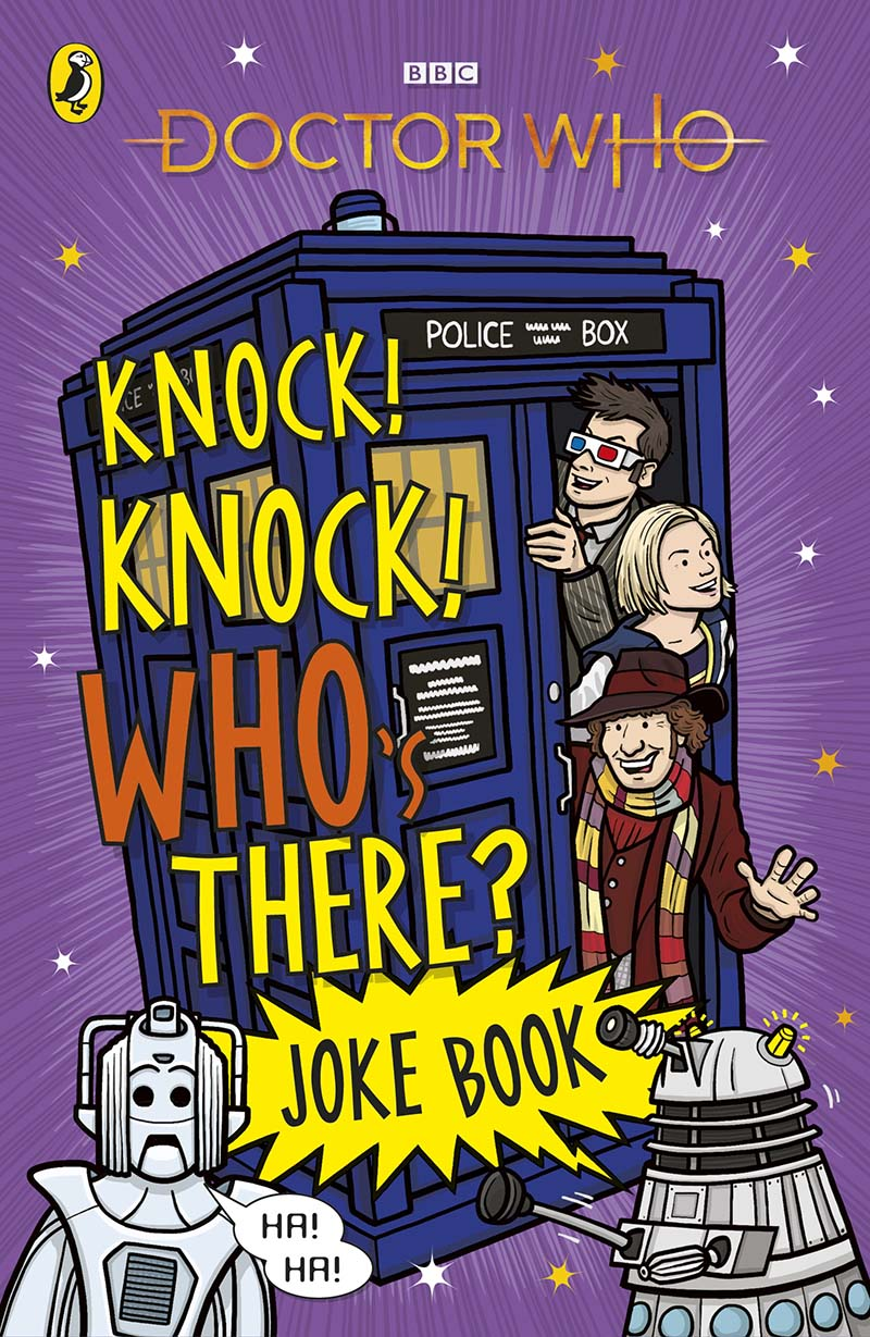 Doctor Who: Knock! Knock! Who's There? Joke Book - Jacket