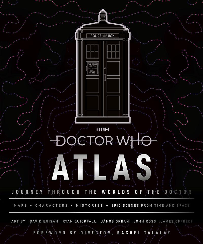 Doctor Who Atlas - Jacket