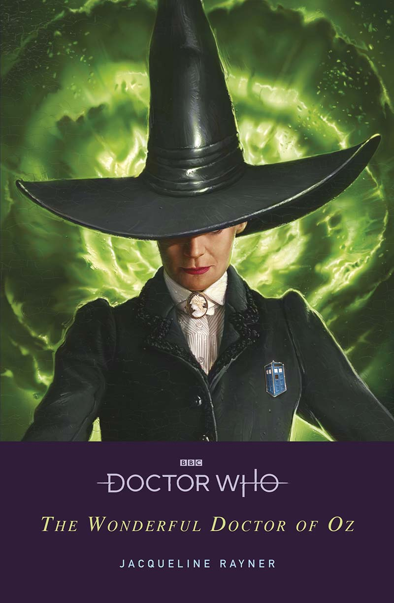 Doctor Who: The Wonderful Doctor of Oz - Jacket