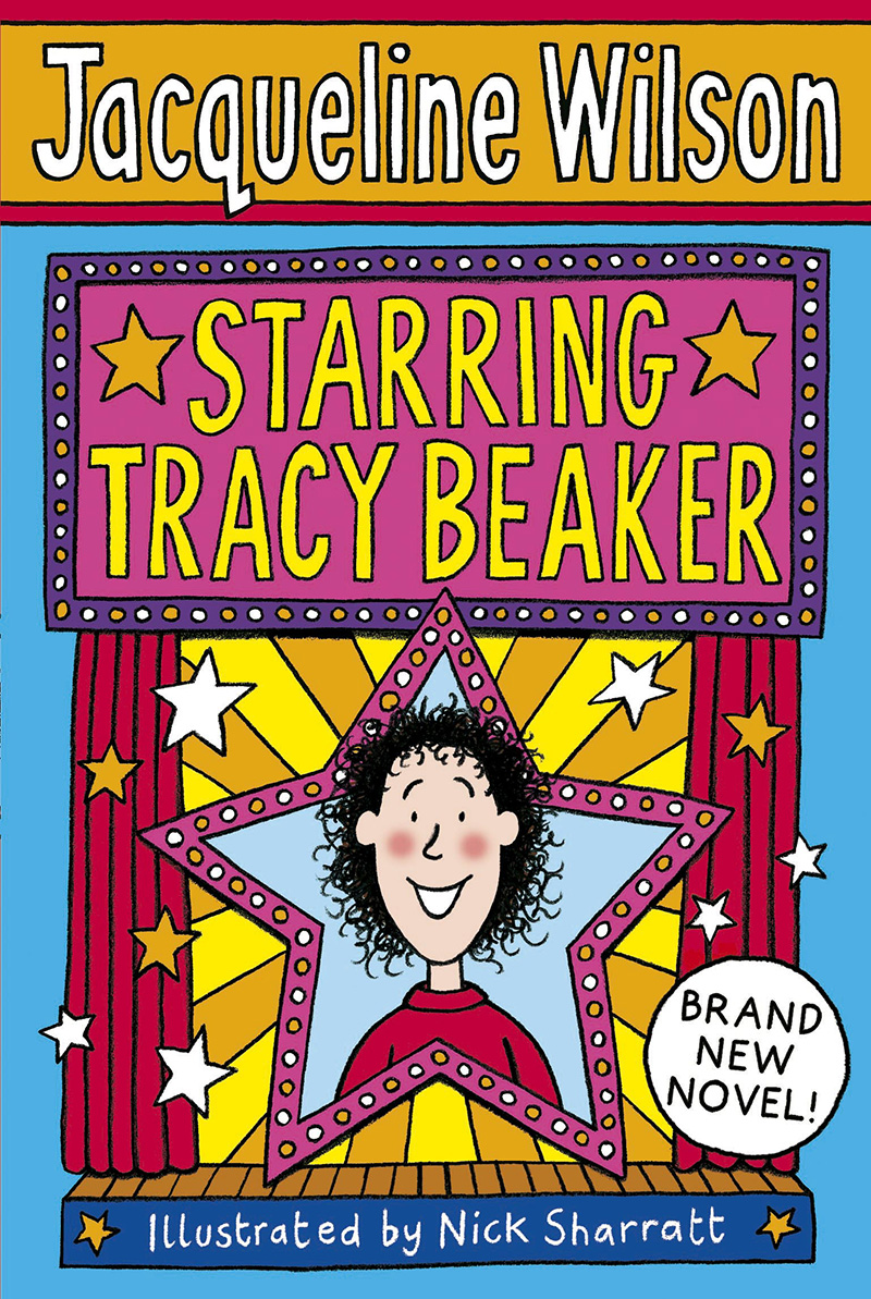 Starring Tracy Beaker - Jacket