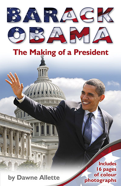 Barack Obama: The Making of a President - Jacket