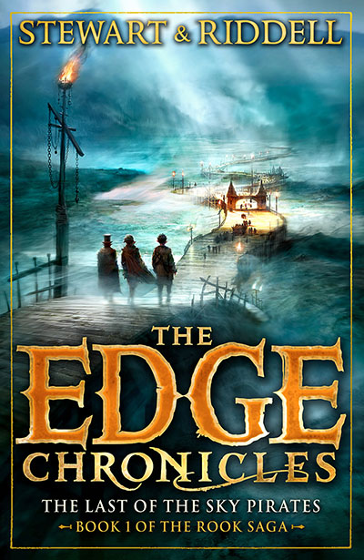 The Edge Chronicles 7: The Last of the Sky Pirates - Jacket