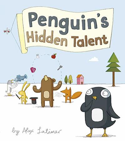 Penguin's Hidden Talent - Jacket