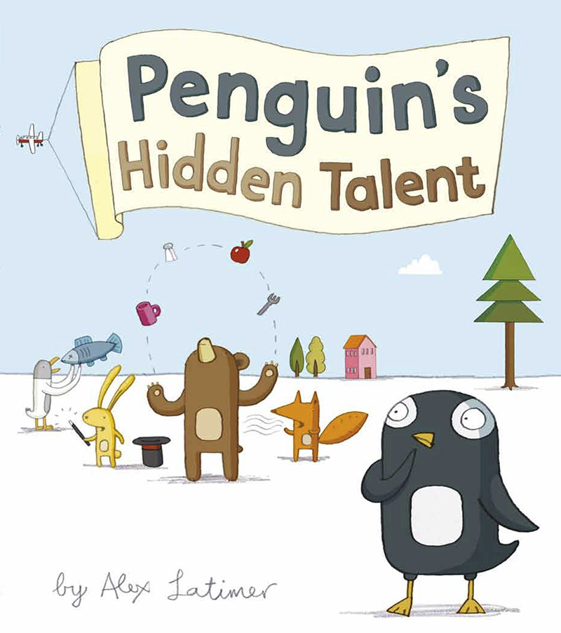 Penguin's Hidden Talent - Jacket