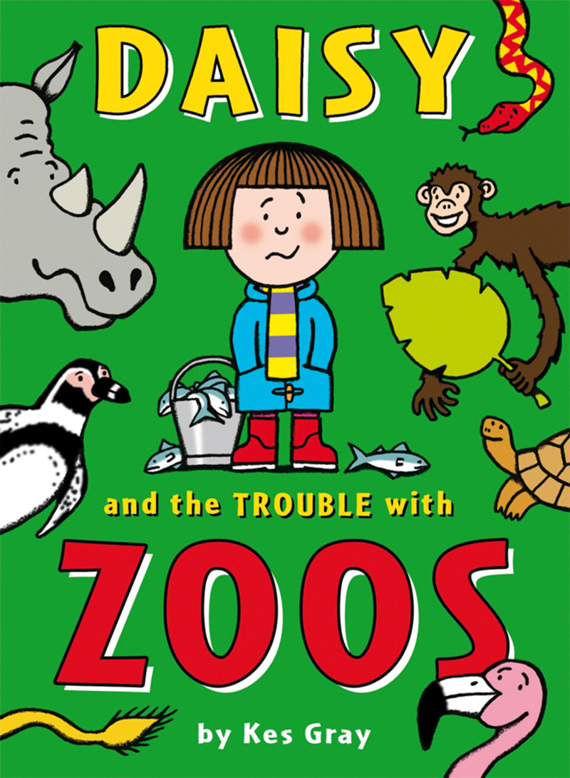 Daisy and the Trouble with Zoos - Jacket