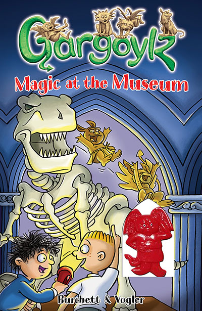 Gargoylz: Magic at the Museum - Jacket