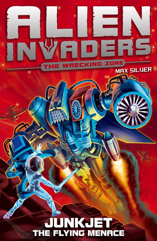 Alien Invaders 7: Junkjet - The Flying Menace - Jacket