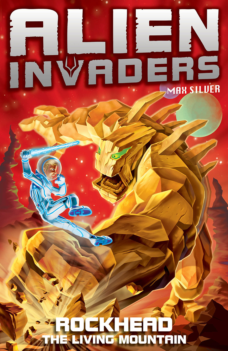 Alien Invaders 1: Rockhead - The Living Mountain - Jacket