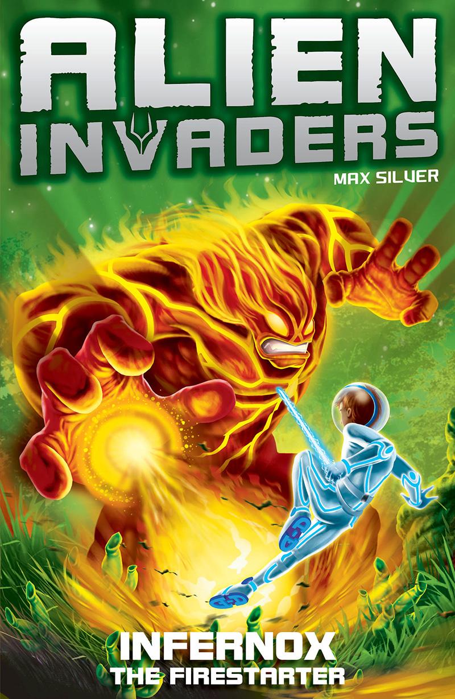 Alien Invaders 2: Infernox - The Fire Starter - Jacket