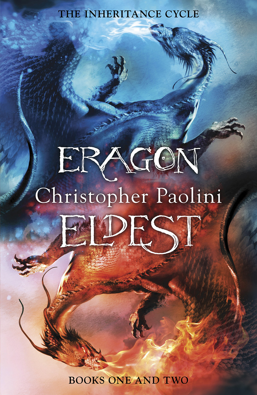 Eragon and Eldest Omnibus - Jacket